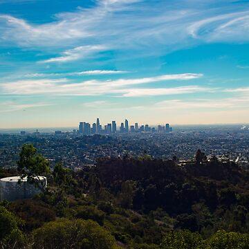 Los Angeles Skyline by weissdocs