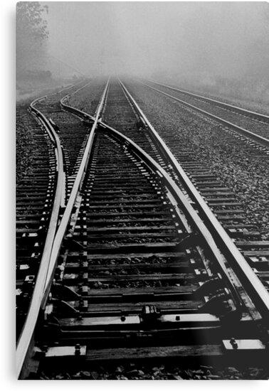 Fog over the tracks..when the levee breaks by jammingene