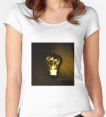 The Brightest Bulb in the Box Fitted Scoop T-Shirt