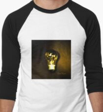 The Brightest Bulb in the Box Baseball ¾ Sleeve T-Shirt
