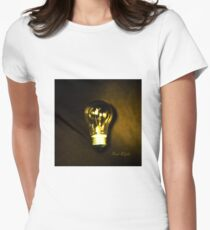 The Brightest Bulb in the Box Fitted T-Shirt