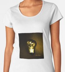 The Brightest Bulb in the Box Premium Scoop T-Shirt