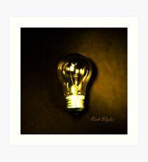 The Brightest Bulb in the Box Art Print
