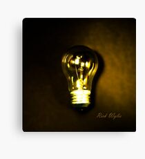 The Brightest Bulb in the Box Canvas Print