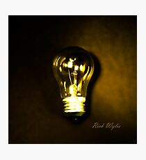 The Brightest Bulb in the Box Photographic Print