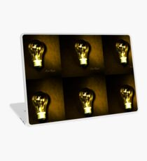 The Brightest Bulb in the Box Laptop Skin