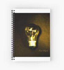 The Brightest Bulb in the Box Spiral Notebook