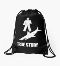 Funny Gift For Amputated Arm Amputee Present Drawstring Bag