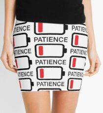 Lack of patience Mini Skirt