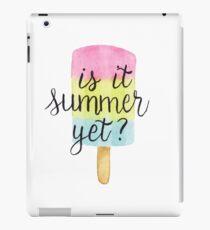 Summer Popsicle  iPad Case/Skin