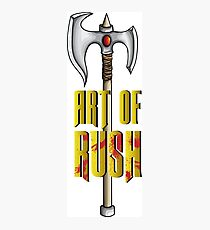 Art of rush Photographic Print