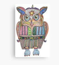Cool Owl Canvas Print