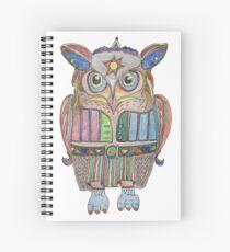 Cool Owl Spiral Notebook