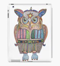 Cool Owl iPad Case/Skin