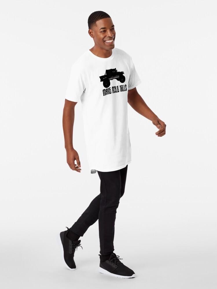 Alternate view of Shift Shirts Built For Battle - H1 Inspired Long T-Shirt