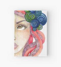 Tentacled hair siren Hardcover Journal