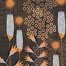 flower pattern by tomashevskaya