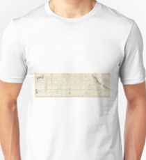Antique Map - Nautical Chart of the Pacific Ocean (Seale, 1748) Unisex T-Shirt