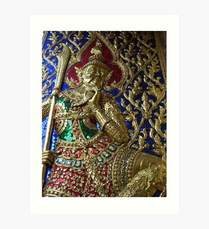 Bangkok jewels Art Print