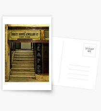 Art deco style shop Postcards