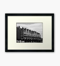 SeaPort Housing Framed Print