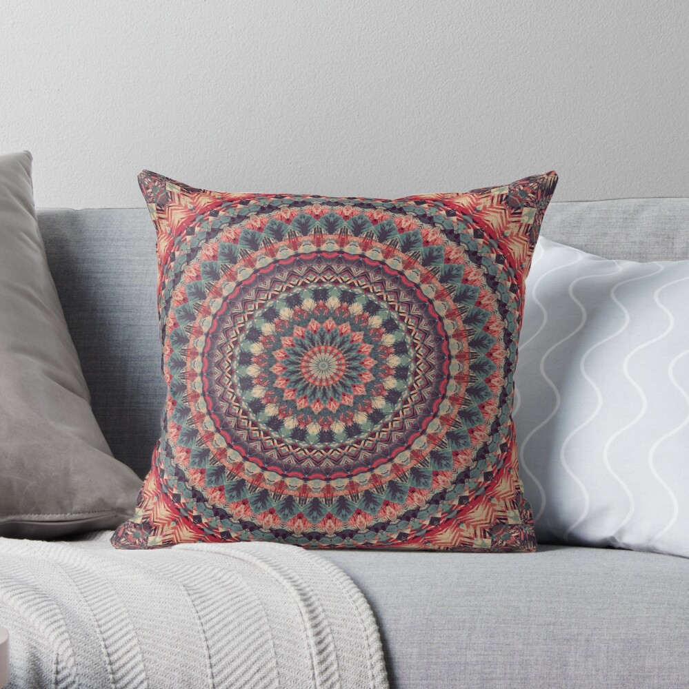 Mandala 126 Throw Pillow