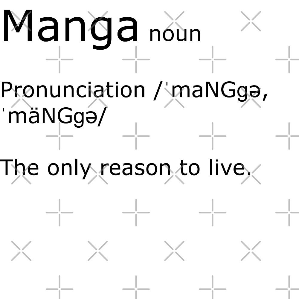 Manga definition