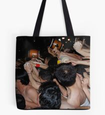 Rowing down the road Tote Bag