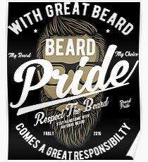 GREAT BEARD - BEARD PRIDE Poster