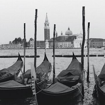 Gondolas of San Marco by pixelkuh