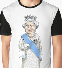 Queen Elizabeth II Graphic T-Shirt