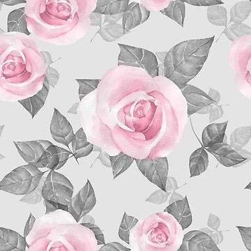 Delicate roses  by Gribanessa