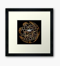 'Just Beneath the Skin' Framed Print