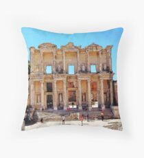 """""""Today Meets Yesterday"""", Photo / Digital Painting Throw Pillow"""