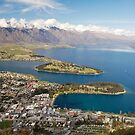 Queenstown From Above by llemmacs