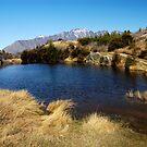Hilltop Lake by llemmacs