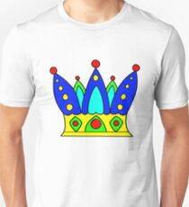 Hand drawn crown of king or queen Unisex T-Shirt