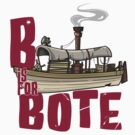 B is for Bote by JungleCrews