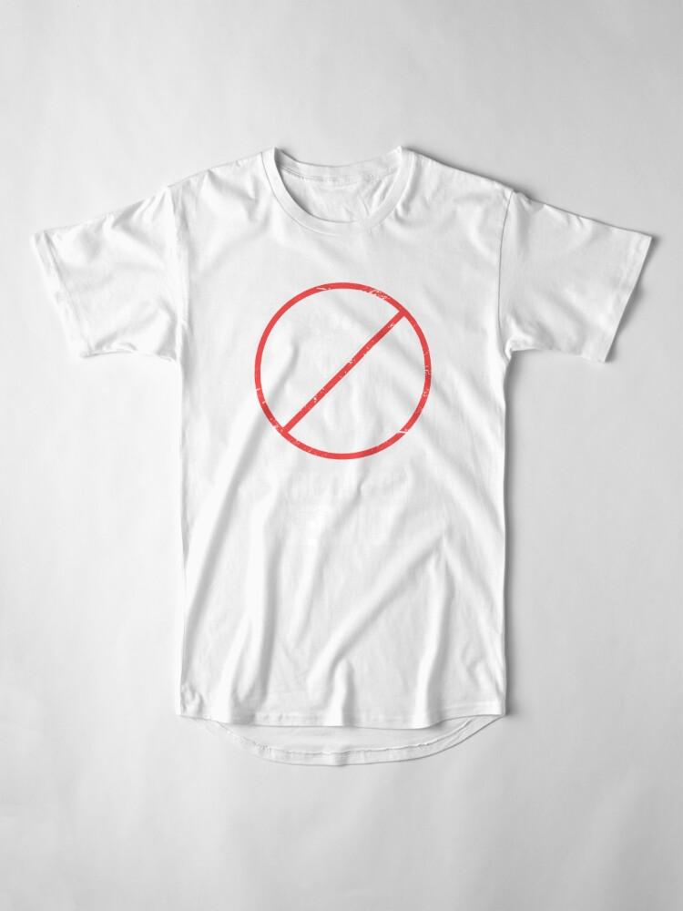 Vista alternativa de Camiseta larga Funny Get Well Gift - Punta rota fracturada