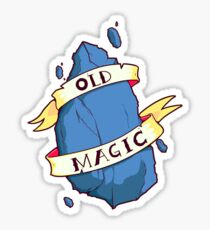 Old Is Magic Sticker