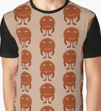 scary brown halloween Graphic T-Shirt