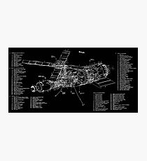 Skylab Drawings and Technical Diagrams sk001a0041 Photographic Print
