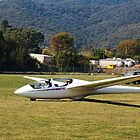 Mount Beauty Glider At Club by Joy Watson