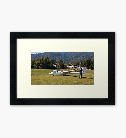 Mount Beauty Glider At Club Framed Print