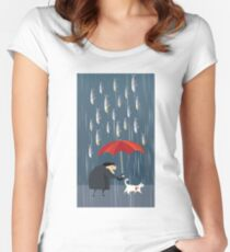 Kafka on the Shore Women's Fitted Scoop T-Shirt