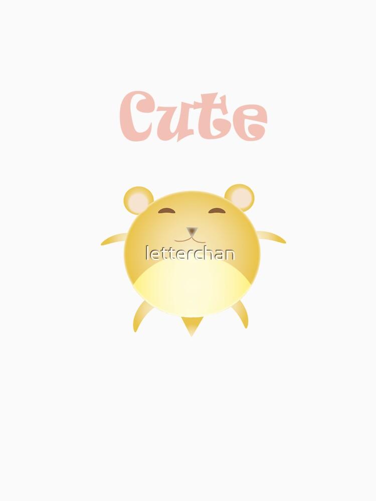 cute ham-ham by letterchan