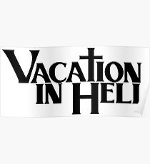 Vacation In Hell Hip Hop Poster