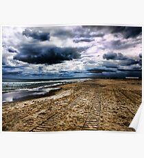 Tempesta alla playa Poster