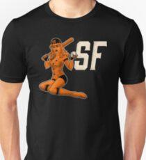 SF Giants Pin-Up-Girl 1 Slim Fit T-Shirt