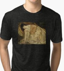 'The Princess and the Frog' by Bluemenschein (Reproduction) Tri-blend T-Shirt